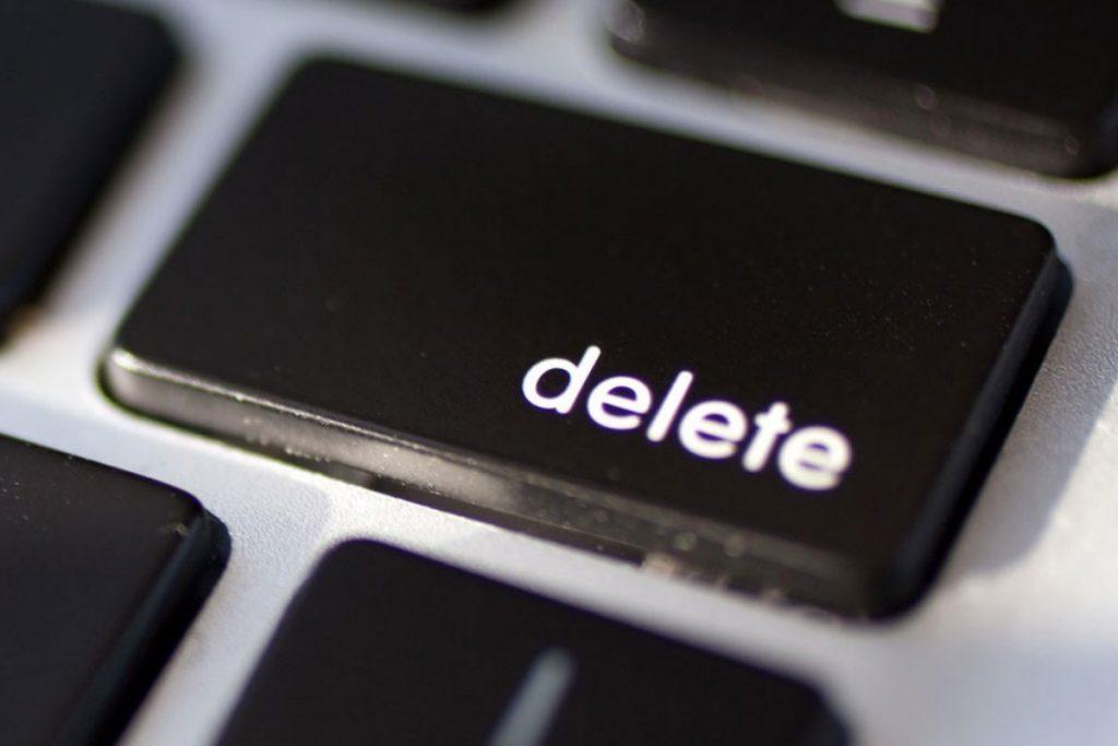 Borrar archivos temporales