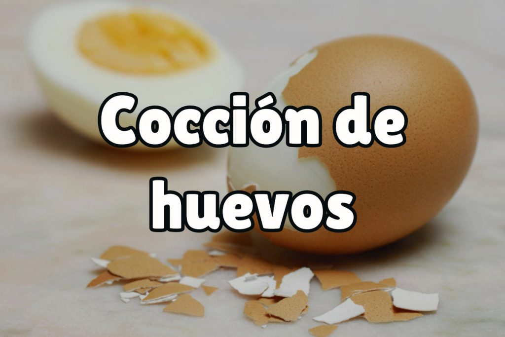 Tiempo de cocción de los huevos cocidos