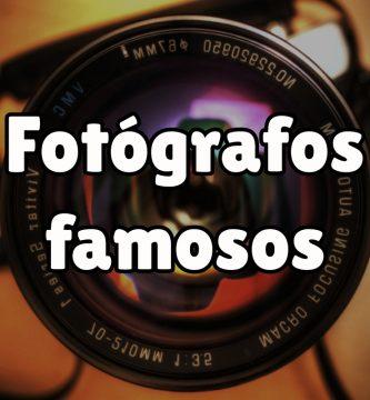 Fotógrafos más famosos de la historia