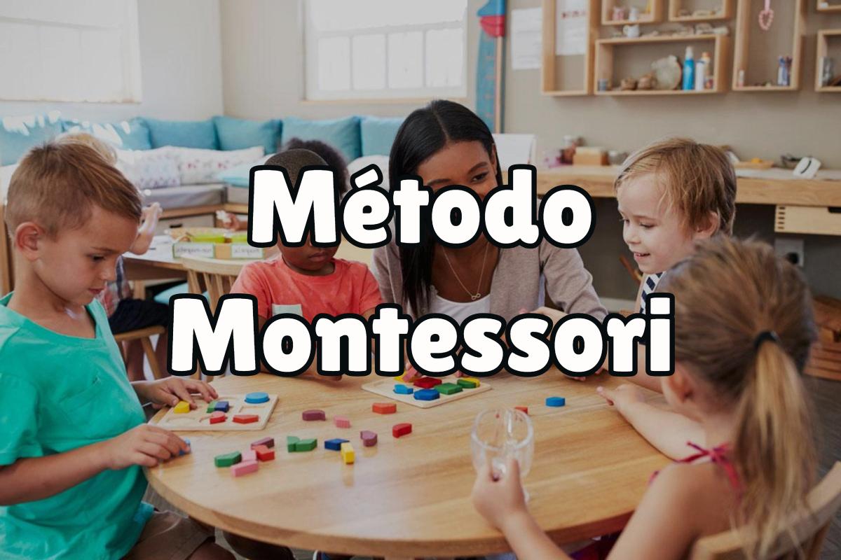 ¿En qué consiste el método montessori?