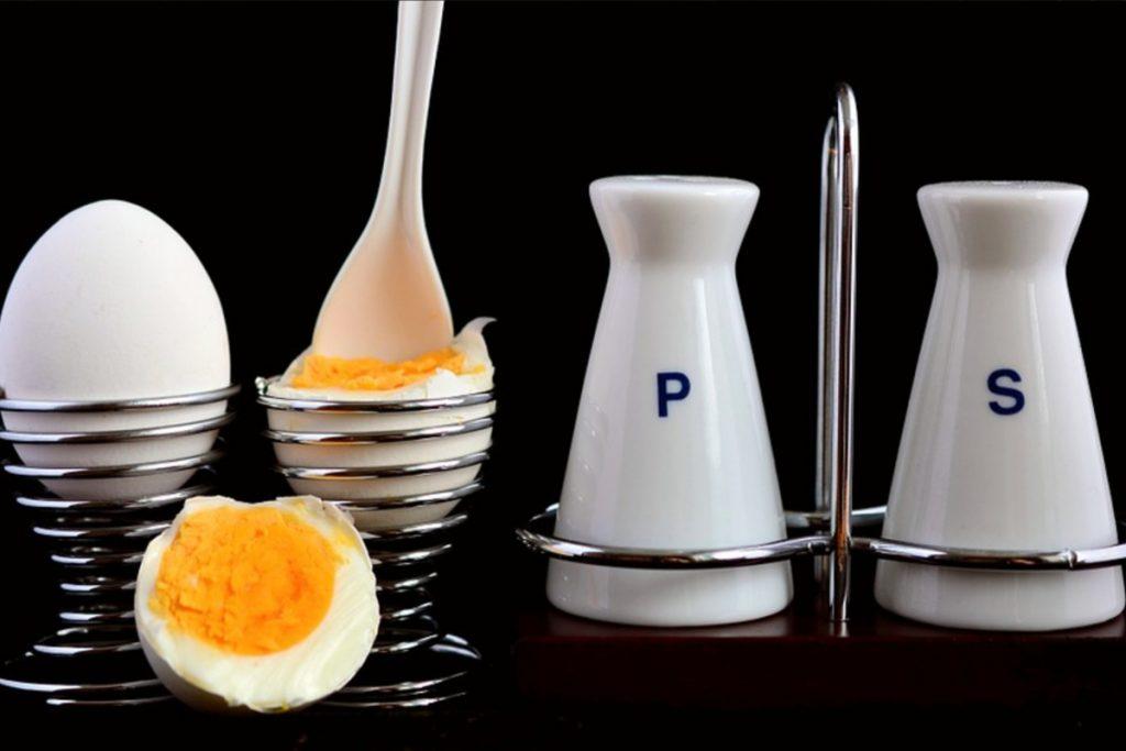 Huevos bien cocidos