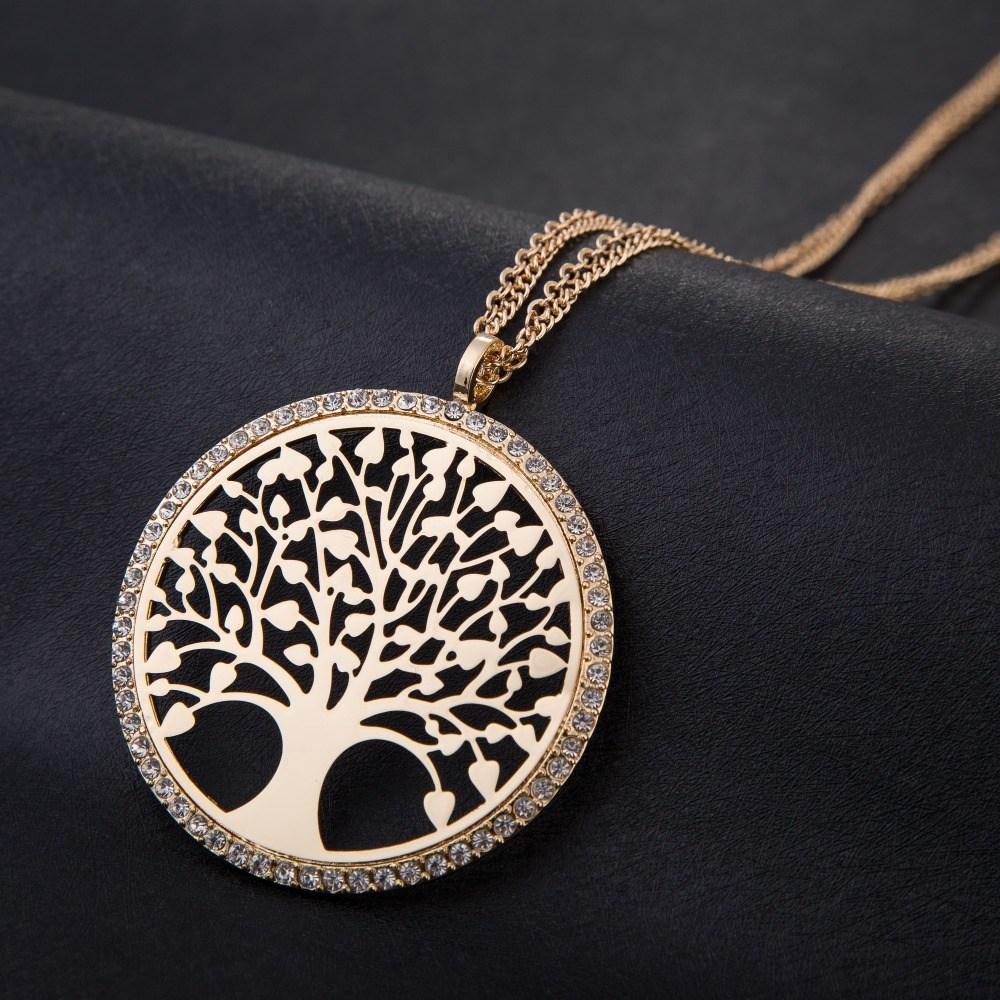¿Qué significa llevar colgado un collar del árbol de la vida?