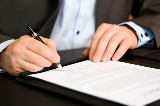 Firma del testamento vital