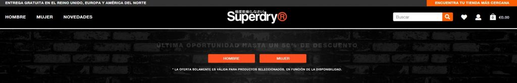 Web Superdry