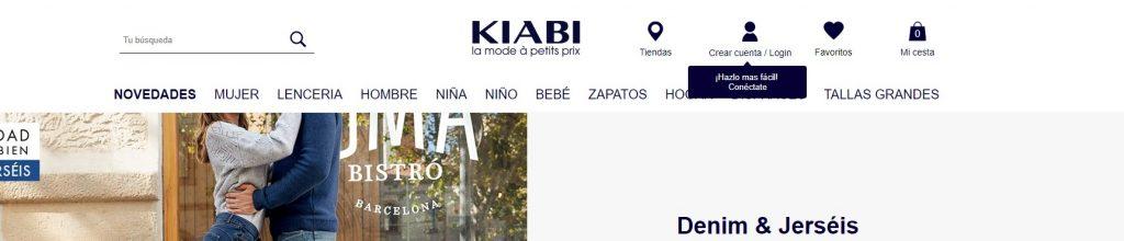 Home web Kiabi