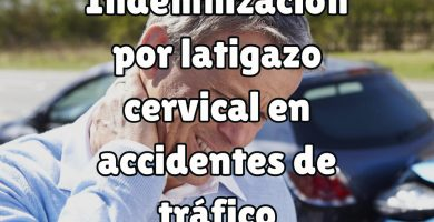 indemnización latigazo cervical